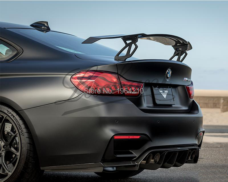 Car Styling Exterior Carbon Fiber Modified GT Rear Spoiler Tail Trunk Lip Wing Decoration Fit For BMW F82 F80 M3 M4 M5 M6