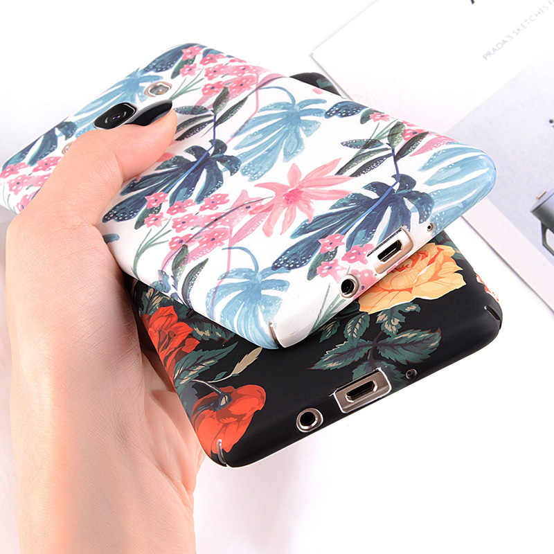 Ottwn Phone Case untuk Samsung Galaxy S8 S9 Plus S7 Edge A3 A5 A7 A8 J3 J5 J7 2017 Catatan 8 9 Hard Plastic Back Cover UNTUK Samsung S9