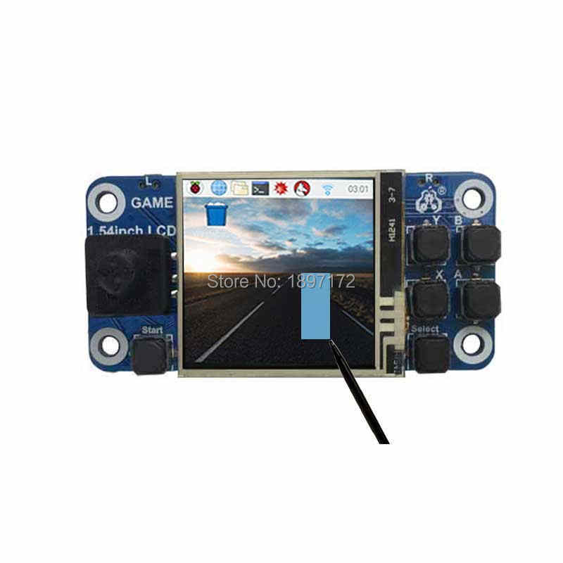 Raspberry Pi Game zero W/2B/3B+/4B 1 54inch mini LCD touchscreen