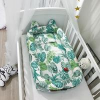 Portable Baby Crib Infant Toddler Cradle Cot For Newborn Nursery Travel Folding Baby Nest Bed For Infant Baby Care 26 Styles