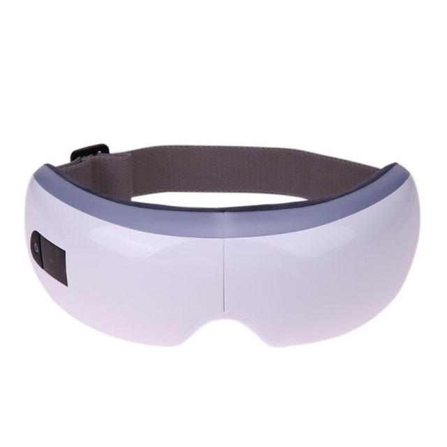 Sans fil électrique yeux masseur chauffage thérapie pression dair musique yeux SPA yeux soulagement du Stress dispositif de soins