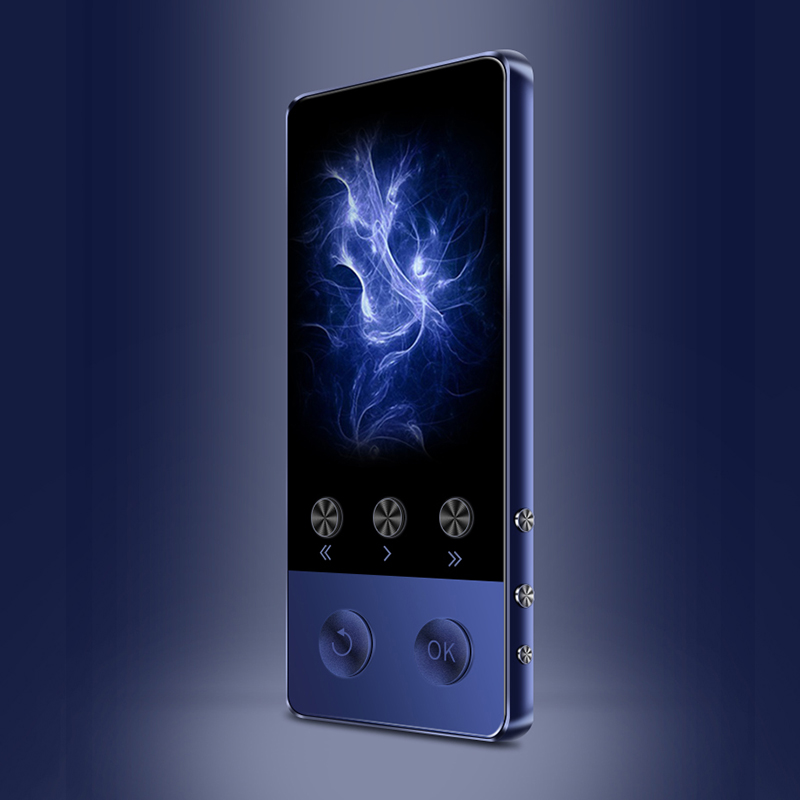 MECHEN A5 Mini Portable Bluetooth MP3 Player HiFi Music Speaker Alarm Clock TF Read Recording FM Video Player OTG Support