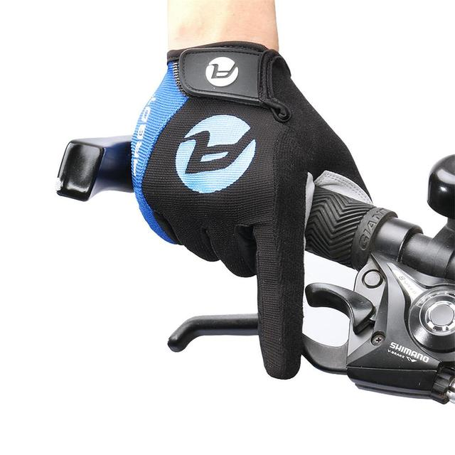 Luvas impermeáveis da motocicleta anti-skid resistência de alta temperatura à prova de sol mountain bike quente mantendo ciclismo tela sensível ao toque 4