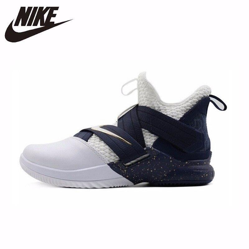 pretty nice 8fd80 ff24b Nike Men's Basketball Original New Shoes Lebron Soldier 12 ...
