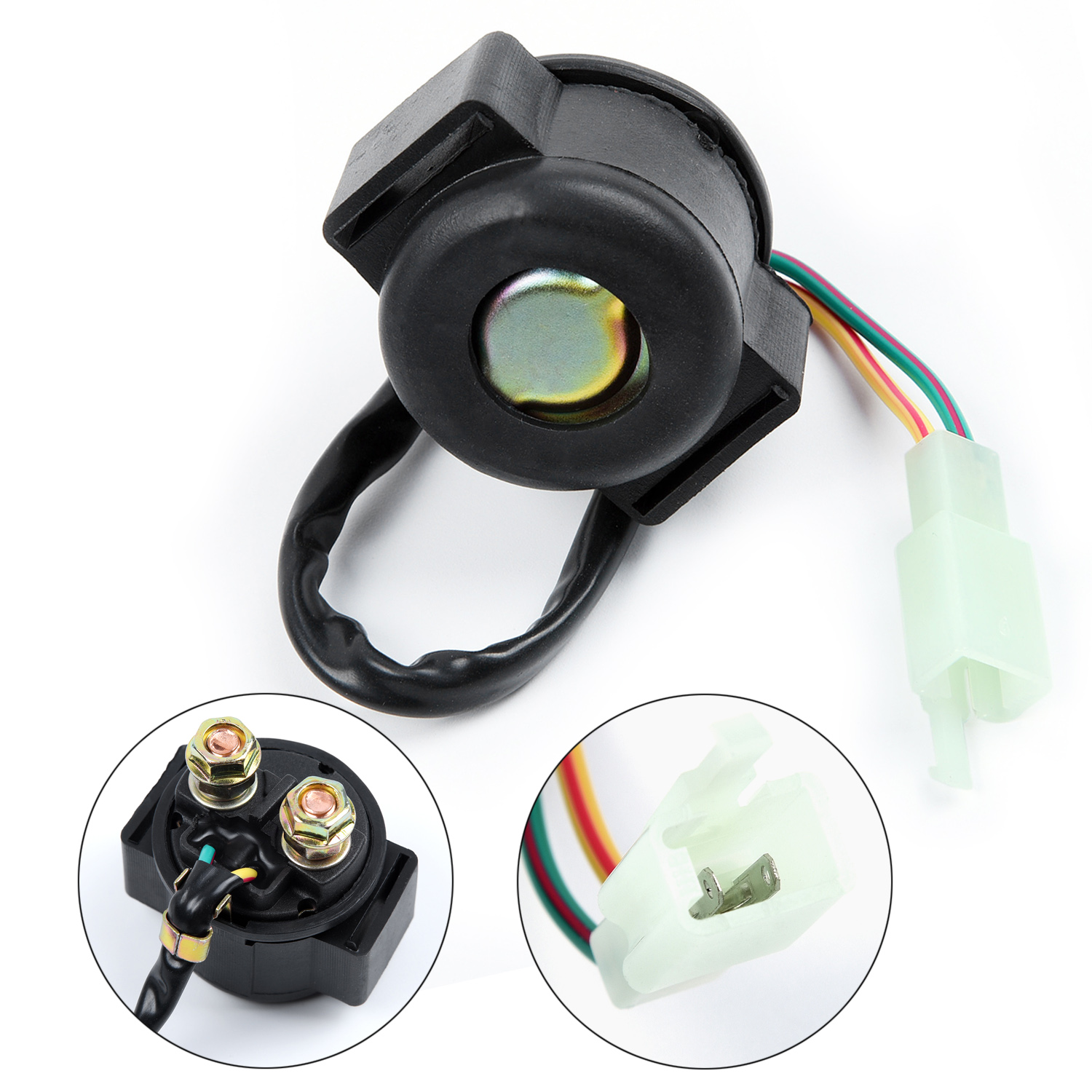 parts ahl starter solenoid relay for honda trx300 fourtrax 300 1988 2008 motorcycle powersports [ 1500 x 1500 Pixel ]