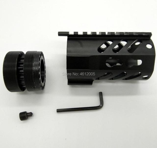 Keymod Handguard Free Float Rifle Style Ar 15 Handguard 4 Inch In