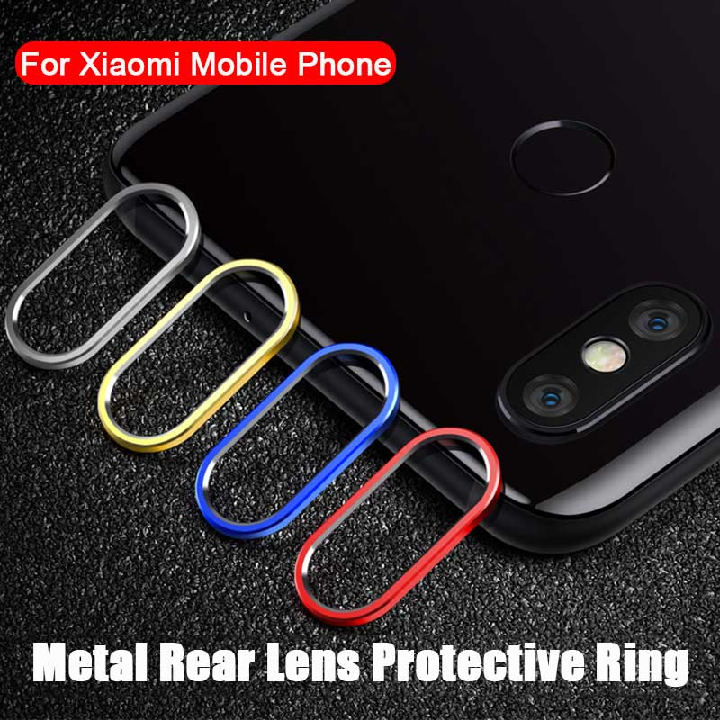 De Metal cámara trasera lente anillo Protector para Xiaomi mi 8 SE para  Xiaomi mi A2 24ae8eadb582