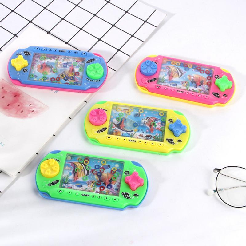 Children Water Machine Water Ferrule Game Consoles Traditional Nostalgic Hand-eye Coordination Interactive Game Toy Child Gift