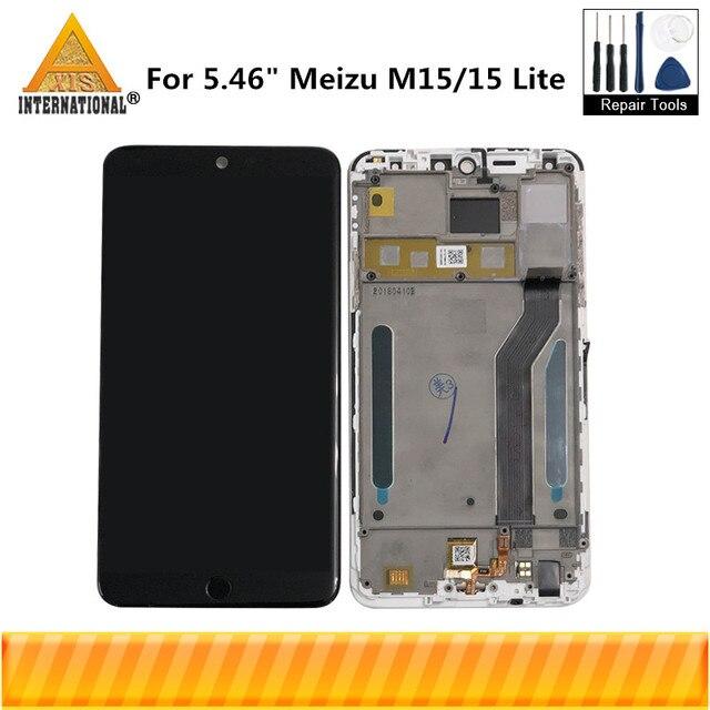 """Original Axisinternational Für 5,46 """"Meizu M15 Snapdragon 626 LCD Screen Display + Touch Panel Digitizer Für Meizu 15 Lite rahmen"""