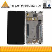 """Original Axisinternational pour 5.46 """"Meizu M15 Snapdragon 626 écran LCD + numériseur d'écran tactile pour cadre Meizu 15 Lite"""