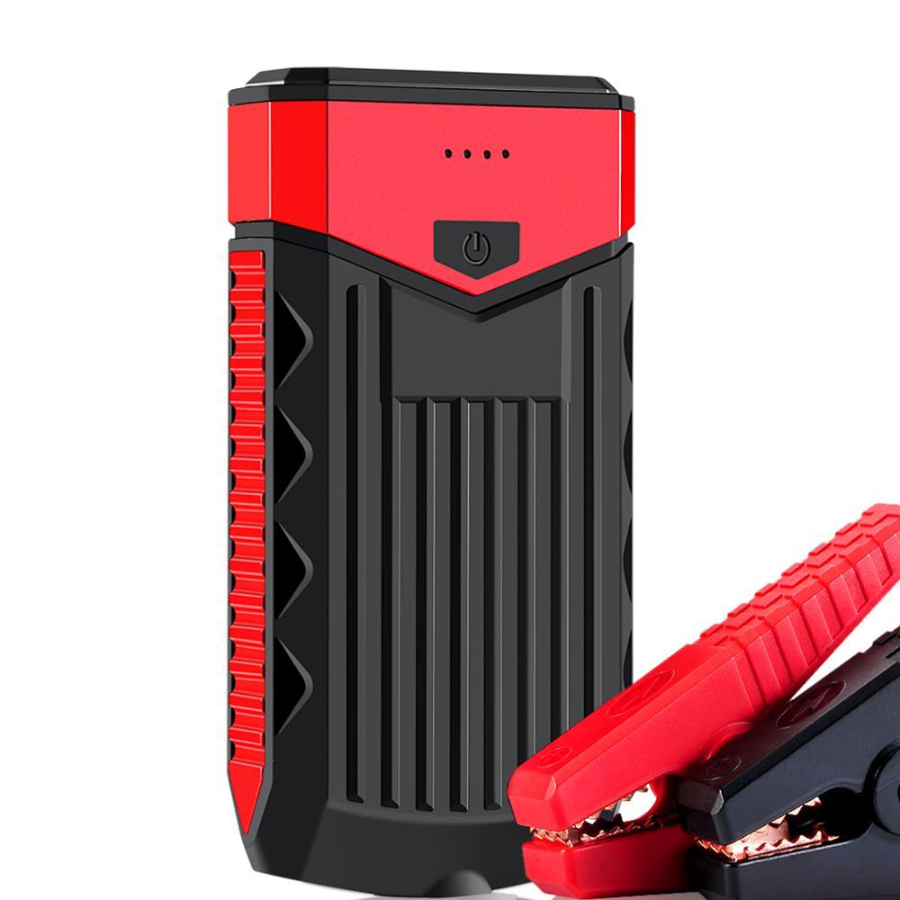 HCBAO Super puissance voiture saut démarreur batterie externe 600A Portable voiture batterie Booster chargeur 12 V 6.0L-essence 3.0T-Diesel voiture démarreur