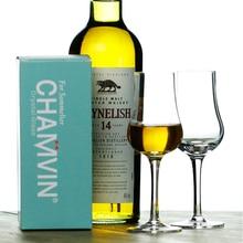 Вкус скотч виски хрустальный бокал для вина аккуратный бокал для бренди вино тастер питьевой копита Кубок лучший подарок для папы