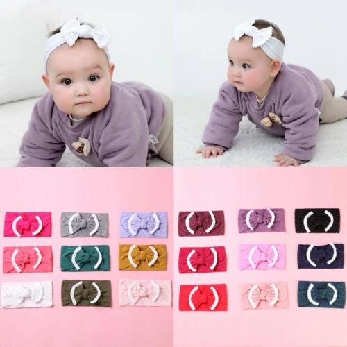 Turban  Bunny  Elastic Hair Band Headwrap Bowknot Hairband Baby Headband