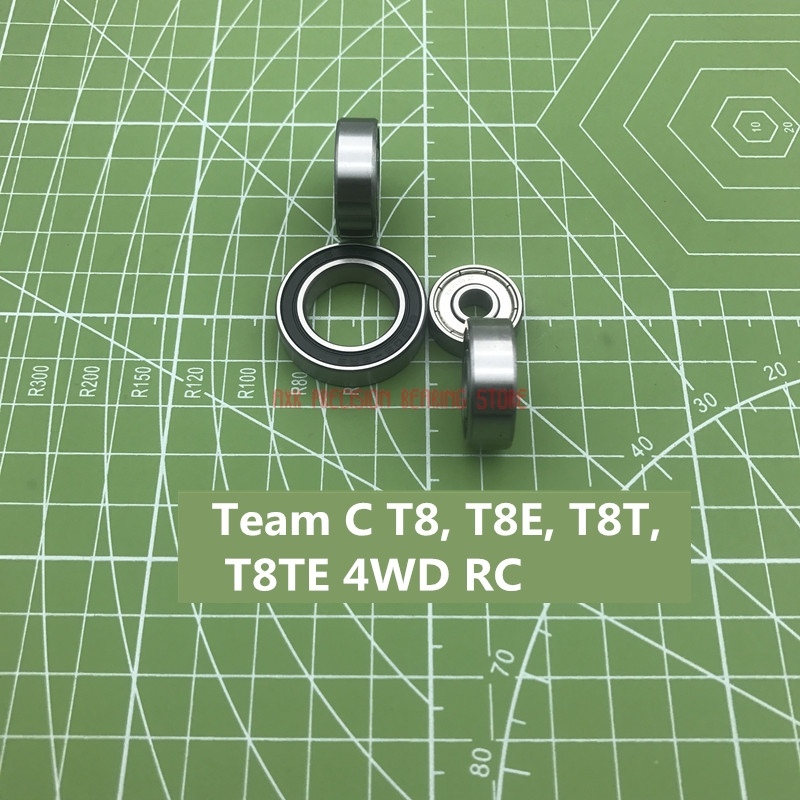 2019 Promotion Free Shipping High Quality A Set Of Team C T8, T8e, T8t, T8te 4wd Rc Model Car Bearing Single Column Rodamientos2019 Promotion Free Shipping High Quality A Set Of Team C T8, T8e, T8t, T8te 4wd Rc Model Car Bearing Single Column Rodamientos