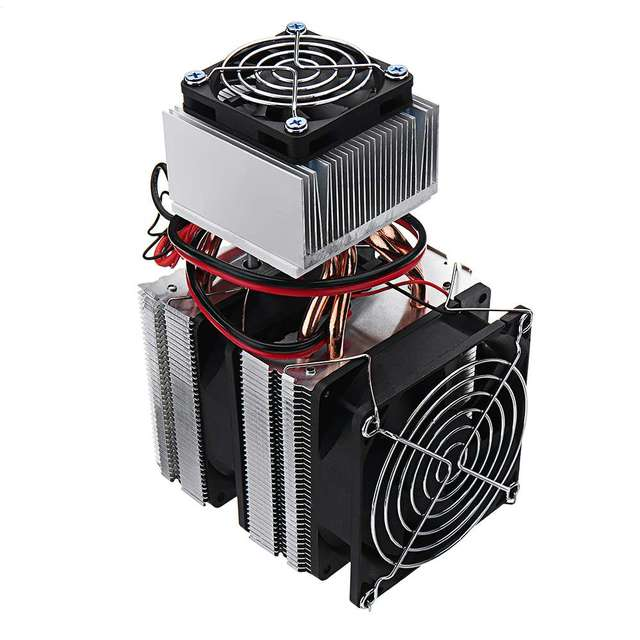 New Diy 12v Mini Electronic Single Cooling Equipment Small