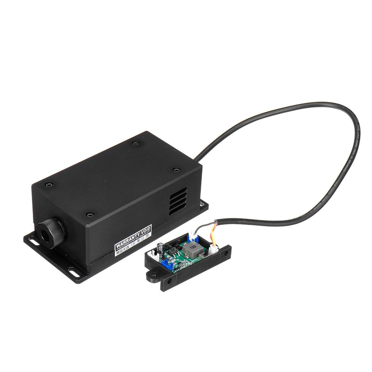 450/17 W 17000 mw 445nm de Alta Potência Cabeça Do Laser Módulo de Gravação Ajustável Focal Laser Azul Módulo DIY de Madeira máquina de Gravura Em metal
