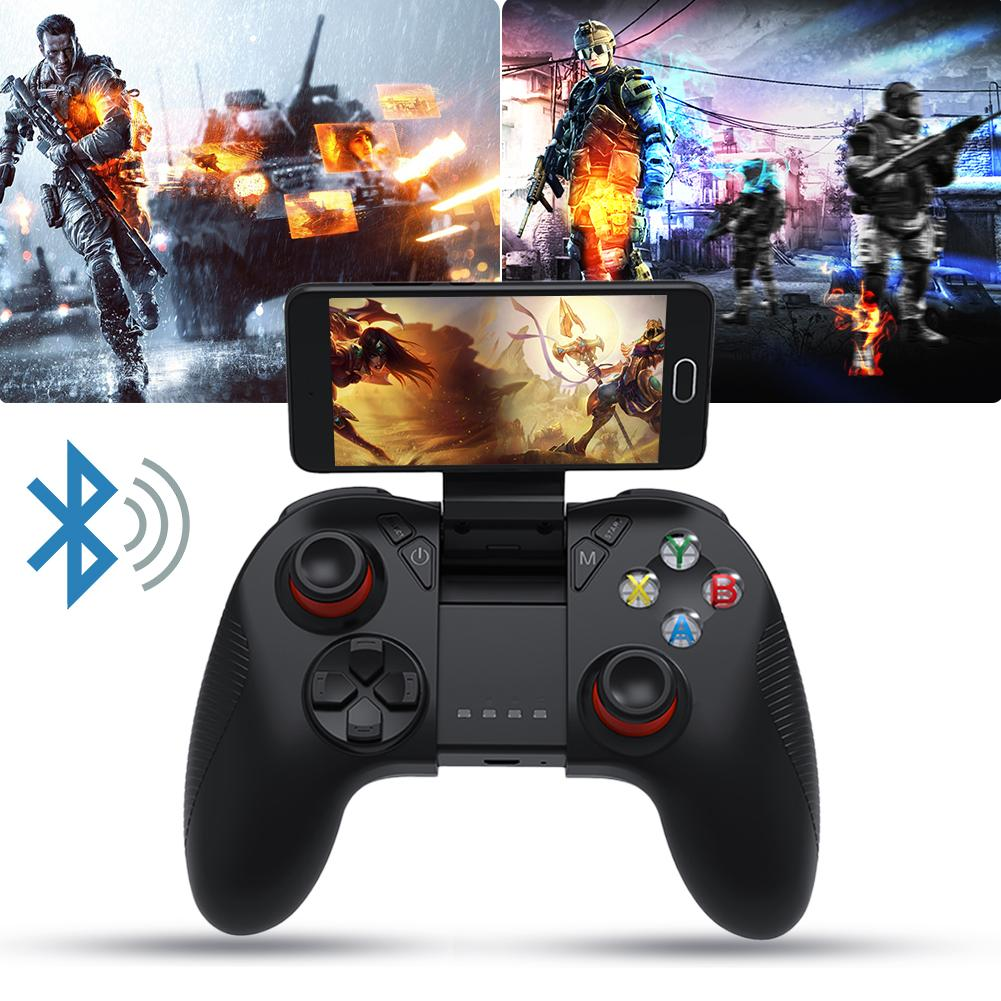 Wireless Bluetooth Gamepad Remote Game Controller Joystick For Cross Platform Android Smartphones Tablets For PUBG Mobile Game-in Gamepads from Consumer Electronics