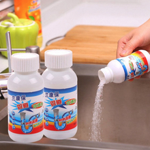 2PCS Sink Drain Cleaner Powder Powerful Cleaning Tool Super Clog Remover Toilet Plunger Tools Bathroom Wash Basin