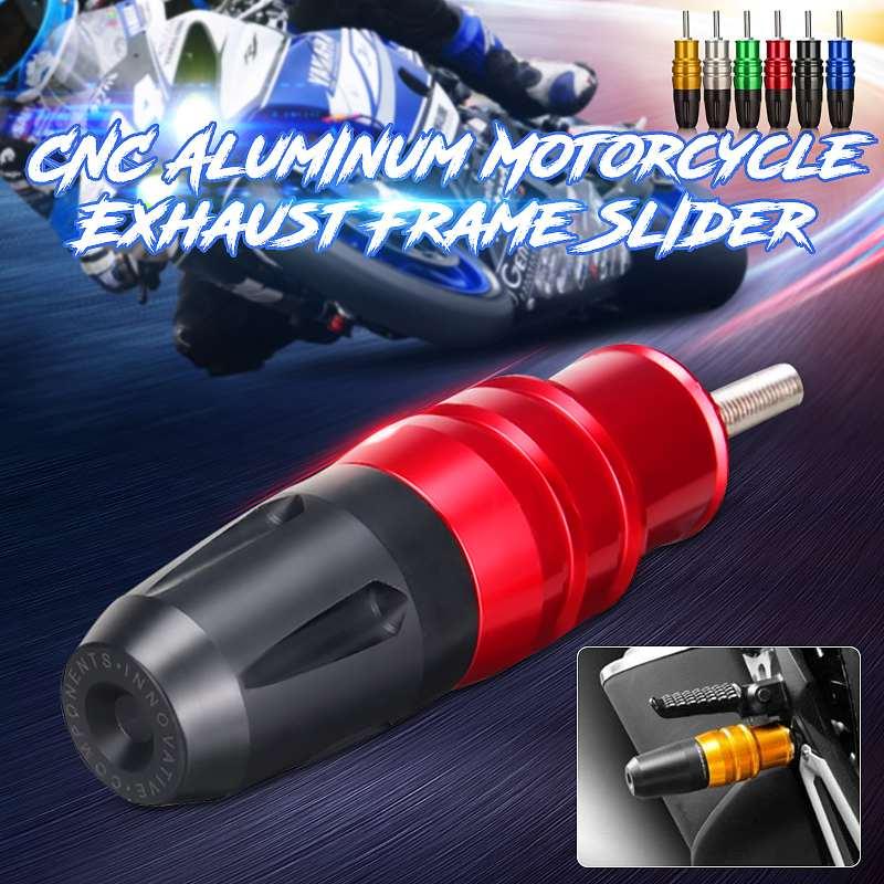 Exaustão da motocicleta Slider Bater Pad Protector Corpo para Kawasaki Z250/Z300/Para Ninja 250/Para Ninja 300 /Z800 Todos Os anos