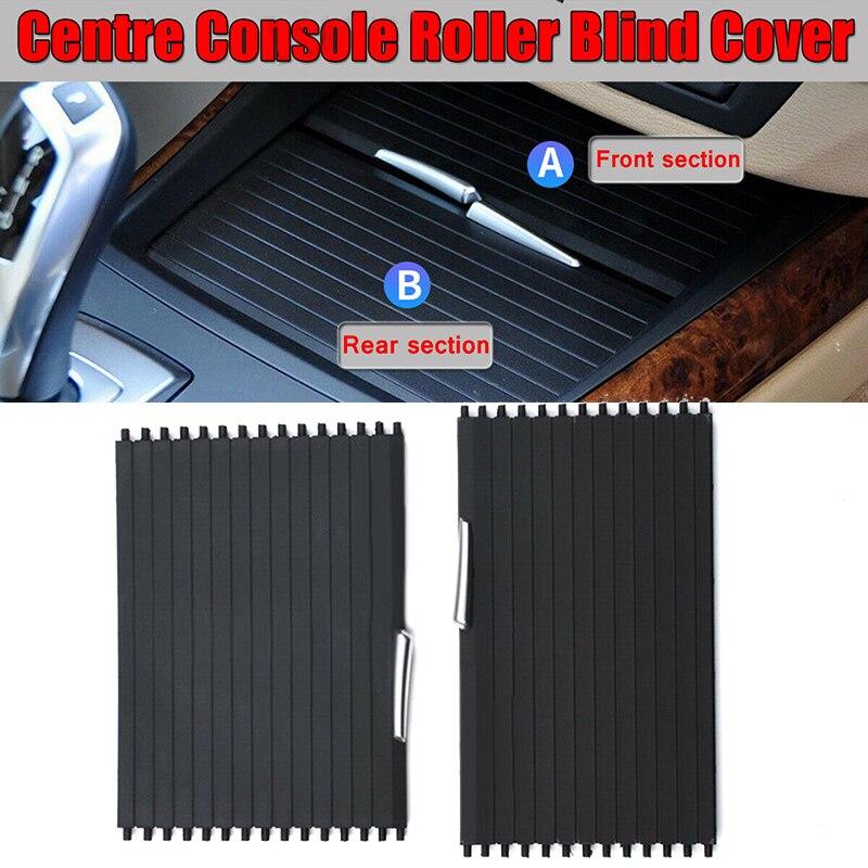 1 paire Console centrale store enrouleur couvercle arrière avant assemblage pour BMW X5 X6 E70 E71 2007-2014