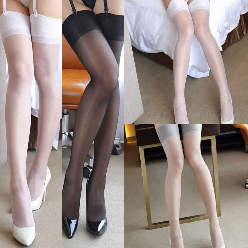 743ed52308b HOT Sexy Lady Garter Belt Fishnet Thigh High Tights Body Stockings Tube  Ultra Thin Stockings
