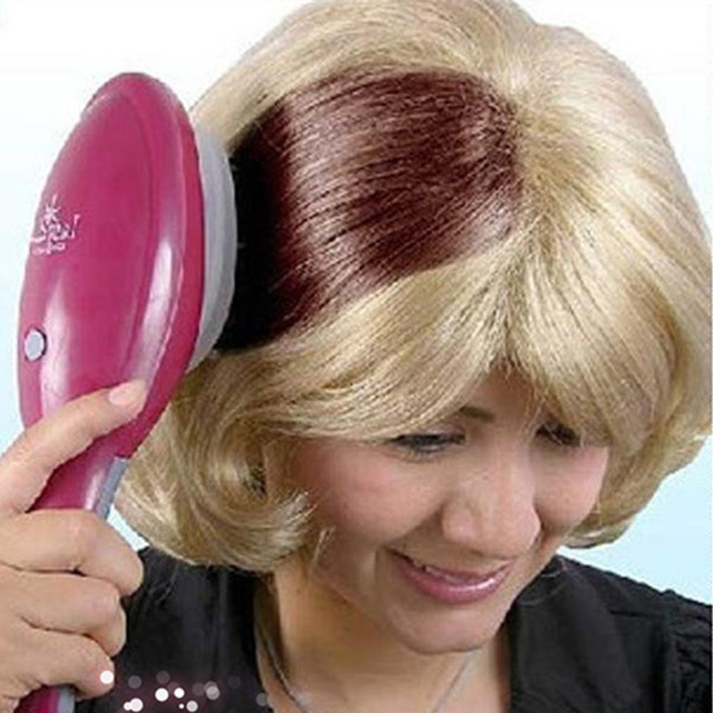 XY Fancy Electric Hair Dye Comb Hair Coloring Brush For Ladies Hair Styling Combs