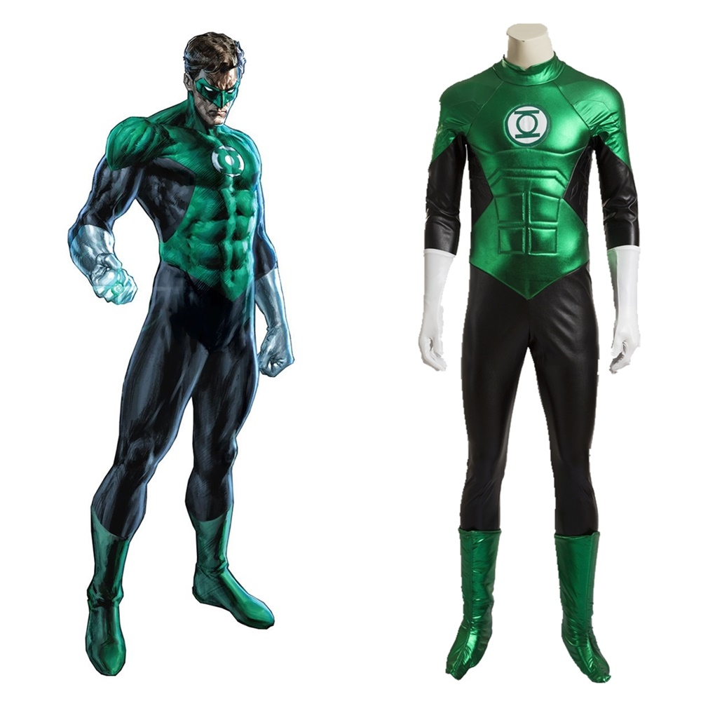 Green Lantern cosplay costume Halloween Outfit