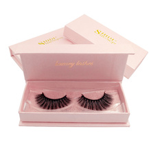 SHIDISHANGPIN 3d mink eyelashes volume eyelash natural long 1 pair full strip lashes cilios maquillaje extension