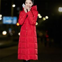 2018 Winter Jacket New Fashion Women Down jacket parka Slim Large size Hooded Coat Women Warm Cotton Outwear Plus Size Xnxee стоимость