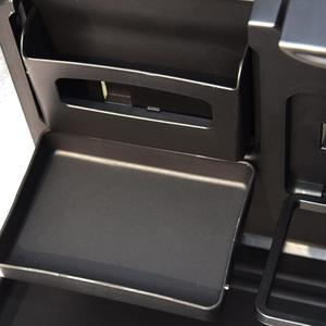 Image 5 - 유니버설 접는 자동차 테이블 다기능 자동차 자동차 컵 홀더 좌석 다시 음식 자동차 트레이 워터 컵 전화 마운트 자동차 팔레트 선반