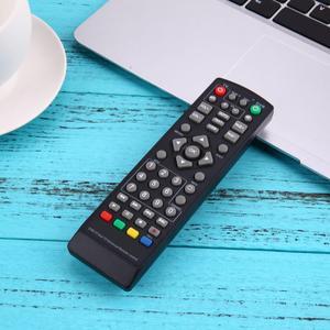 Image 4 - 1 قطعة العالمي مريحة التحكم عن بعد استبدال ل DVB T2 التلفزيون الذكية الأسود التحكم عن بعد تحتاج 2 × بطاريات AAA