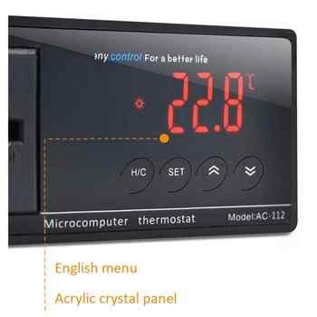 Digital Display Intelligent Plug-In Thermostat Universal Socket ON/OFF Regulator Aquarium Greenhouse Temperature Controller