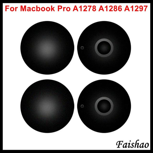 "Faishao 100 יח\חבילה חדש תחתון מקרה כיסוי גומי רגליים רגל עבור Apple MacBook Pro 13 ""15"" 17"" a1278 A1286 A1297 החלפה"