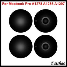 "Faishao 100pcs/lot New Bottom Case Cover Rubber Feet Foot For Apple MacBook Pro 13"" 15"" 17"" A1278 A1286 A1297 Replacement"