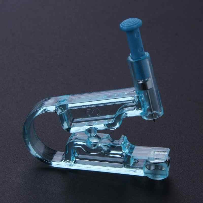 สุขภาพความปลอดภัย Asepsis Disposable หูจมูกเจาะชุดเจาะปลอดภัยปลอดเชื้อปืนแอลกอฮอล์ Swab หูเจาะหูเจาะเครื่องมือ
