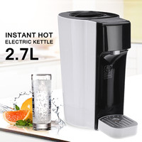 2200W 2.7L Instant Hot Electric Kettle Tea Coffee Maker Water Boiling Dispenser Machine Home Desktop Office Food Grade Screen