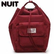 Woman Nylon Casual Backpack Bags For Teenagers Girl Students Schoolgirls Campus Both Shoulders Bag School