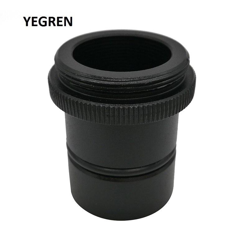 C-mount C Montieren zu 23,2mm 30mm 30,5mm Durchmesser Adapter für Mikroskop Verbinden mit Elektronische Okular CCD USB Kamera