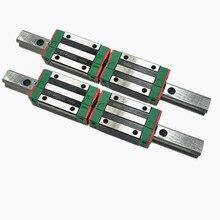 Линейная направляющая HGR25-L1000MM+ 2 шт HGH25CA/HGW25CC узкий/квадратный линейный блок/каретка для ЧПУ