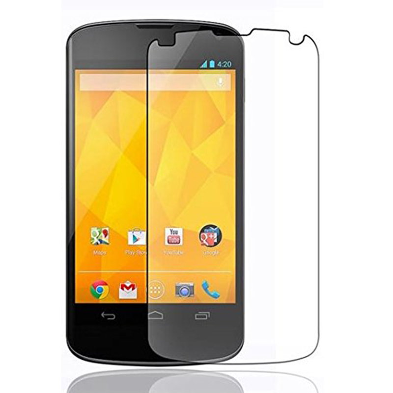 Premium Ultra-Clear tempered glass Screen Protector High Quality Ultra Resistant Scratch-resistant For LG Google Nexus 4-Ultra