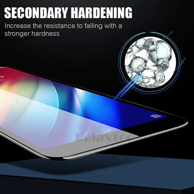 2-1pcs 9D Full Glue Tempered Glass For Samsung Galaxy A5 A7 2017 A9 A6 A8 Plus 2018 screen protector Protective film on a 5 6 7 5