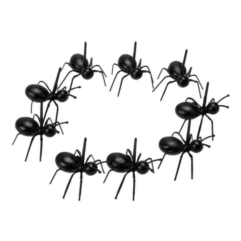 12 sztuk/zestaw Ant kształt widelec do owoców moda przekąska deser ciasto Pick zastawa stołowa do wykorzystania w kuchni w domu Party kolacja akcesoria gorąca sprzedaż 2019