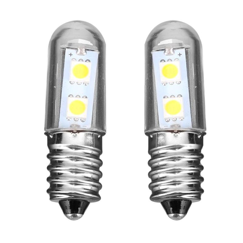 Mini <font><b>1.5W</b></font> <font><b>E14</b></font> <font><b>LED</b></font> 5050 SMD Bulbs Lamp Corn Replacement Light for Fridge Refrigerator Lights image