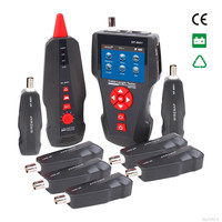 NF 8601W Network Cable Tester Multifunctional LCD Cable Length Tester Breakpoint Tester Networking Tools