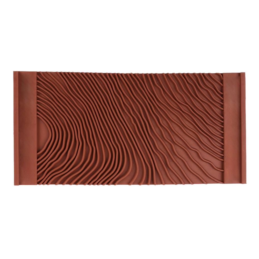 Rubber Wood Grain Painting Tool Imitation Wood Graining Pattern Wall Texture Art DIY Brush Painting Tool Hot