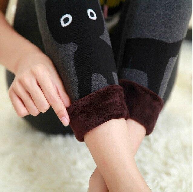 Winter Warm   Leggings   Women High Waist Velvet Leggins Thick Legins Casual Women Pants Plus Size   Leggings