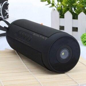 Image 1 - T2 głośnik basowy Bluetooth przenośny wodoodporny zewnętrzny bezprzewodowy głośnik Mini kolumna wsparcie karty TF FM Stereo Hi Fi pudełka