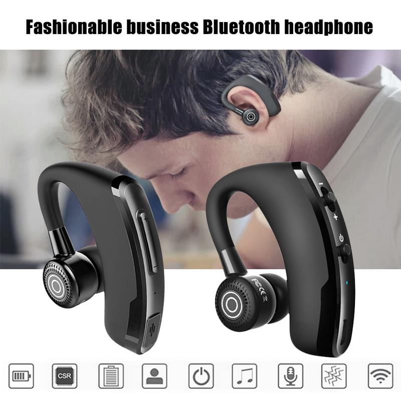 Image 3 - Business Ear hook Type Earphone Wireless CSR Bluetooth Earbuds Stereo Hd Sounds Music Surrounding Devices With Sound Control-in Bluetooth Earphones & Headphones from Consumer Electronics