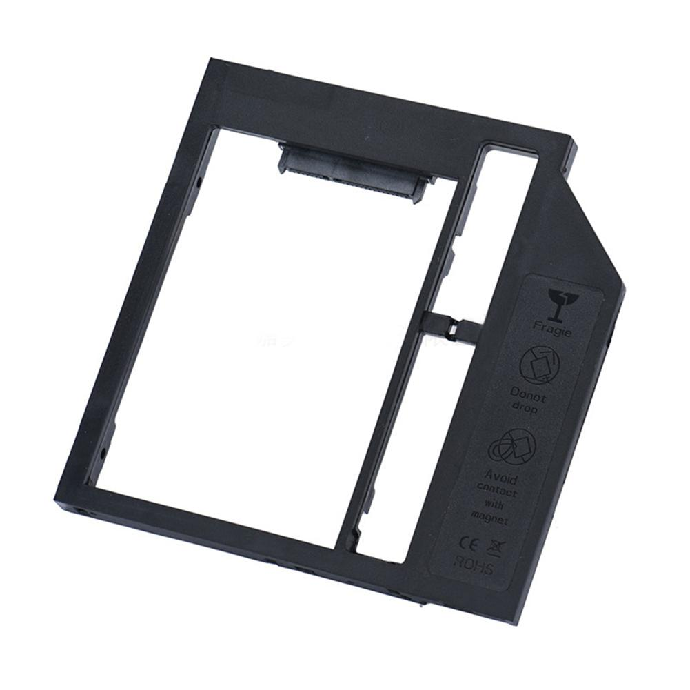 Ultra Thin Notebook Laptop CD ROM HDD SSD Second Hard Drive 9.0mm Bay Bracket Case Mount Holder
