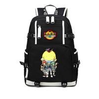 Japan anime Assassination Classroom Ansatsu Kyoushitsu Backpack Korosensei Emoji Smiley Printing Shoulder School Bags Backpacks
